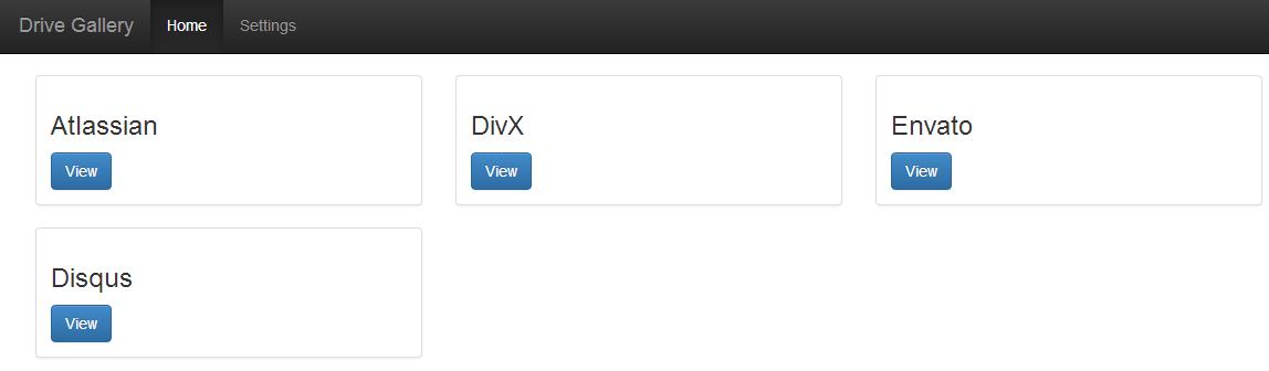 Turn Your Google Drive Folder In An Online Album Viewer • Midnight